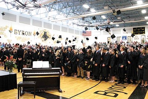 Byron High School – Aumento de competencias en estudiantes con Clases Invertidas