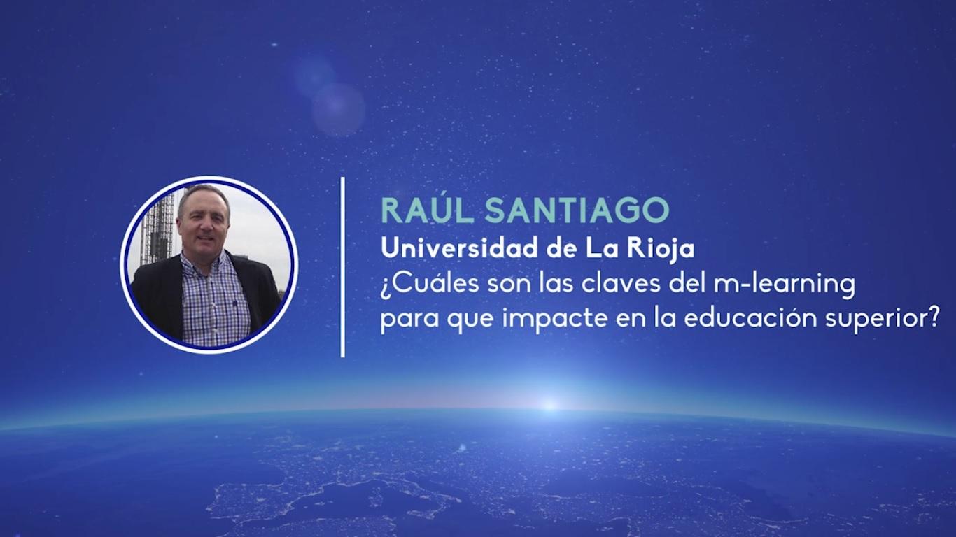 Raúl Santiago y el m-learning